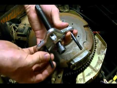 Kohler Small Engine Starter Replacement, Repair #12 098 22-S