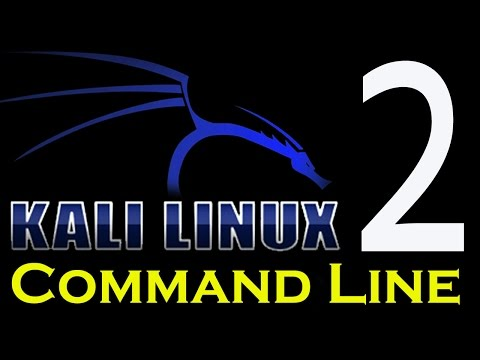 Kali Linux Command Line Tutorials 2 - Working with Directories