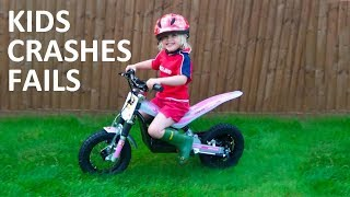Kids fails on motorcycles 2018