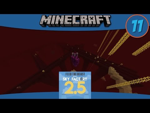 Minecraft Mods: Moving Spawners & Growing Wither Skulls in SkyFactory 2.5 - E11