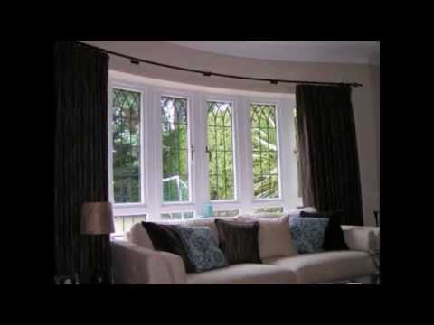 Bay Window Curtain Rods By Colormehouse.com