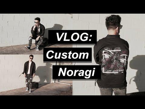 Transforming a karate uniform into a custom Noragi | KenAndrewDaily 03