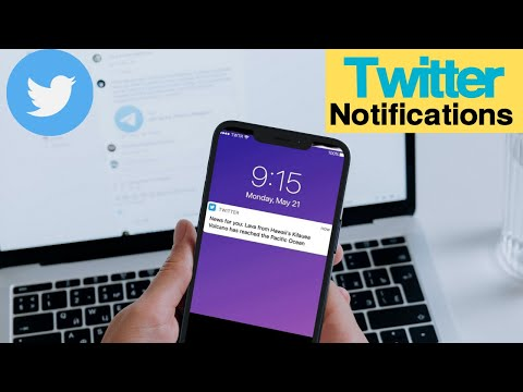 TWITTER NOTIFICATIONS & HOW TO USE THEM ON ANDROID (MAY 2017)
