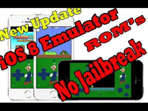 Install iPhone 6-iOS 8 SNES SIOS Emulator ROM Games / No Jailbreak Needed New Update