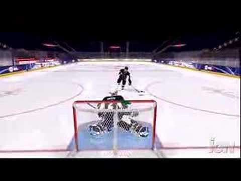 NHL 08 Create a Player/Team