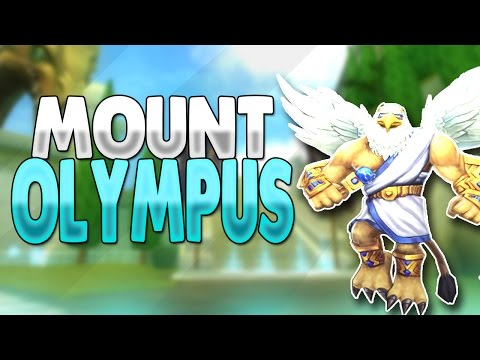 Wizard101: FARMING MOUNT OLYMPUS FOR ZEUS GEAR!! ~ COLE STORM