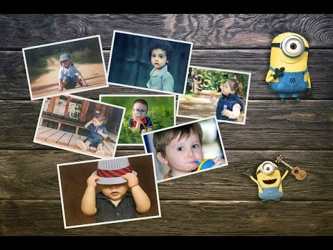How to Create Photo Collage Poster in Photoshop