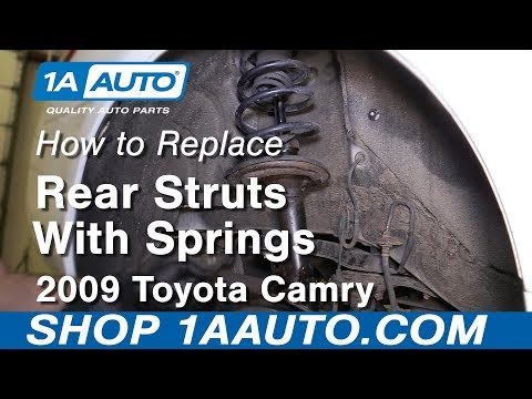 How to Replace Rear Struts 2009 Toyota Camry