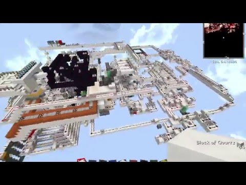 Minecraft redstone 3D printer [1.8]