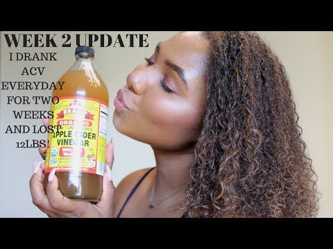 How I Lost 12Lbs In Two Weeks| ACV Update