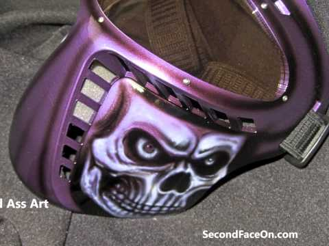 The Best American Made Protective Hard Motorcycle Face Mask non fogging lens