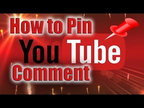 How to Pin YouTube Comment