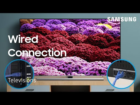 Connect your TV to a Wired Network