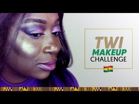 Purple Smokey Eye | Twi Makeup Challenge