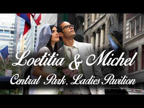 Loetitia & Michel - Central Park, Ladies Pavilion. Getting married in NYC. Wedding photographer.