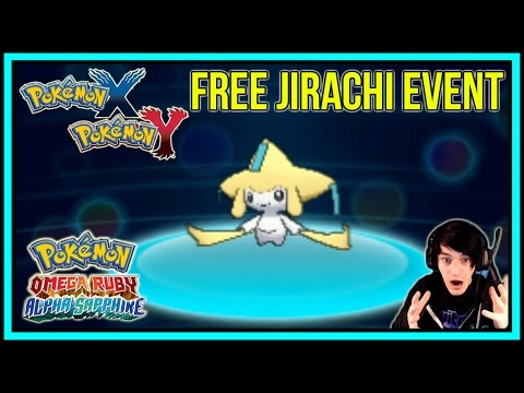 FREE JIRACHI EVENT for Pokemon X/Y - Pokemon Omega Ruby and Alpha Sapphire