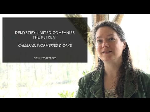 Demystify Limited Companies Retreat - Cameras, Wormeries & Cake
