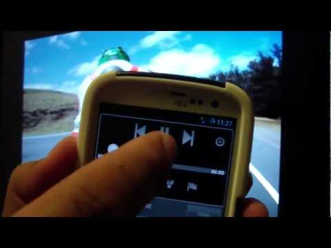Samsung Galaxy S3 remote control application for Youtube enabled devices