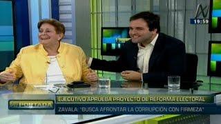 N Portada 26/04 Alcorta y De Belaunde: Ollanta, Alan, Madre Mía, Sheput, indulto, reforma electoral