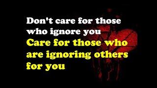 Ignore Quotes Part 01