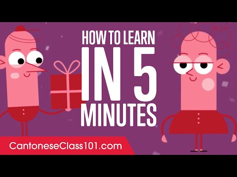 How to Learn Cantonese in 5 Minutes