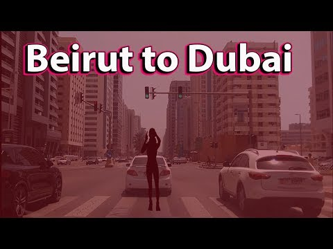 Flying From Beirut To Abu Dhabi By Road Journey