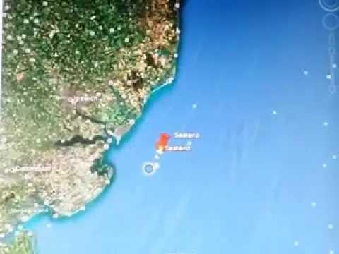 Finding Sealand on Google Earth