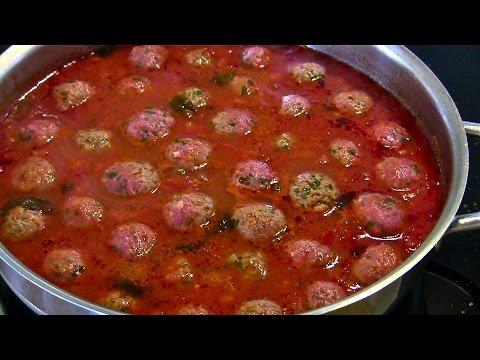 Meatballs-Meatballs in Tomato Sauce-Italian Meatball-Spaghetti with Meatballs