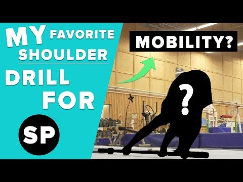 My Favorite Shoulder stretch!? Best Exercise for Shoulder Extension!!