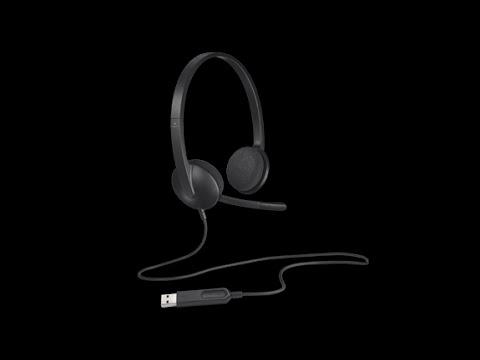 1101429 - LOGITECH H340 USB headset 981-000475