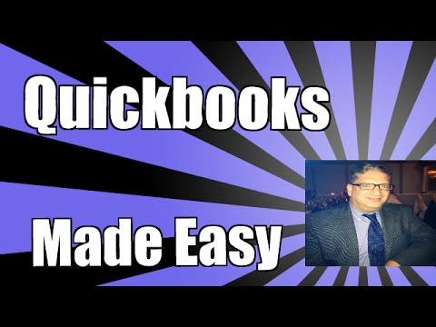 How to make General Ledger entries in Quickbooks