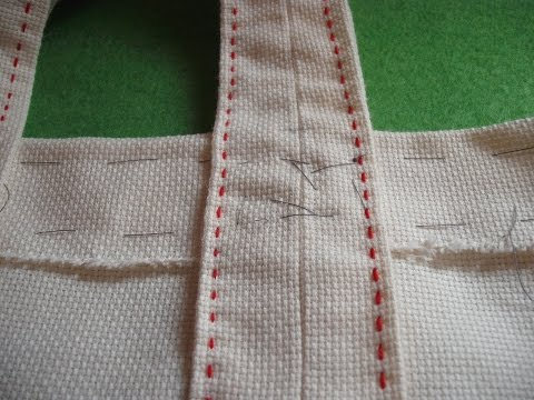 Course of basic embroidery 24: Making a fabric bag