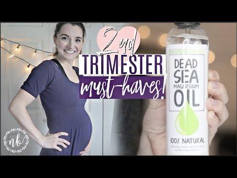 SECOND TRIMESTER MUST-HAVES + ESSENTIALS! |Pregnancy Favorites Series | Natalie Bennett