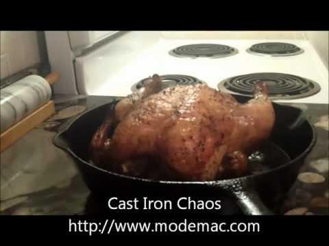 Easy Roast Chicken in a Cast Iron Skillet