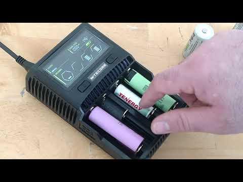 Nitecore SC4 Superb charger - Lithium / NIMH