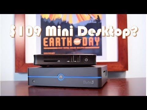 $109 Windows 10 PC: Z83-W Mini Desktop Review