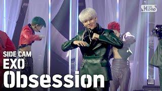 [사이드캠4K] 엑소 'Obsession' 풀캠 (EXO Side FanCam)│@SBS Inkigayo_2019.12.8