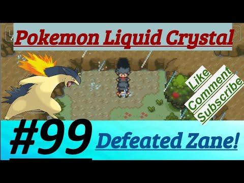 Pokemon Liquid Crystal Episode 99 PokeFan Defeated Zane After Hard Battle On Route 28