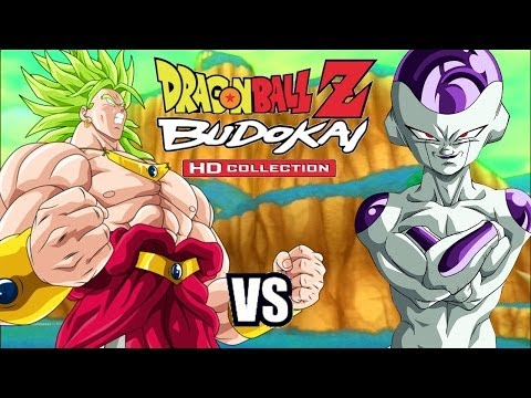 Dragon Ball Z Budokai 3 HD - Broly vs Frieza