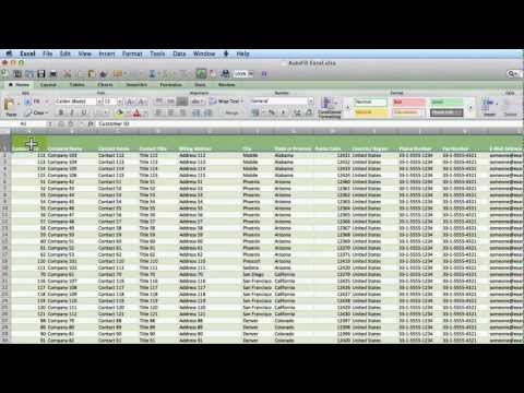 Technology Coaching:  Sorting & Filtering in Excel 2011 for Mac