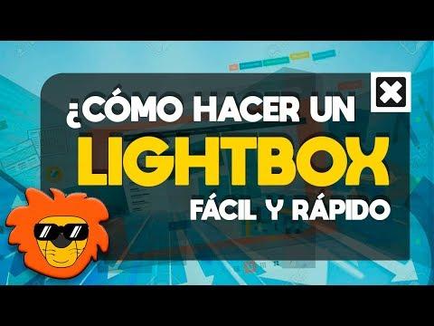 HACER UN LIGHTBOX     HTML CSS Y JQUERY