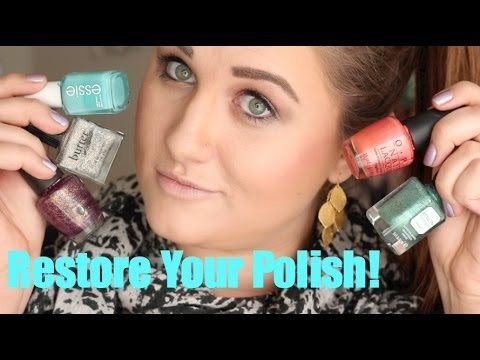 Restore Your Polish! How To Fix Nail Polish That Has Dried Out (Sticky Nail Polish)