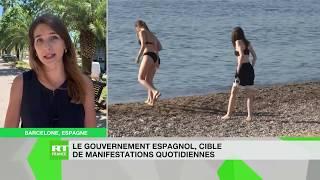 Covid-19 : le gouvernement espagnol fait face à des manifestations quotidiennes