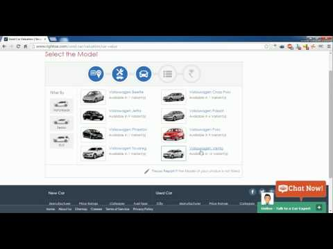 Evaluate Market Price Of Pre-Owned Cars In Online