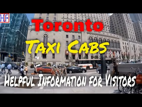 Toronto | Taxi Cabs Guide - Getting Around | Travel Guide | Episode# 3