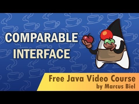Java Comparable interface with funny animation