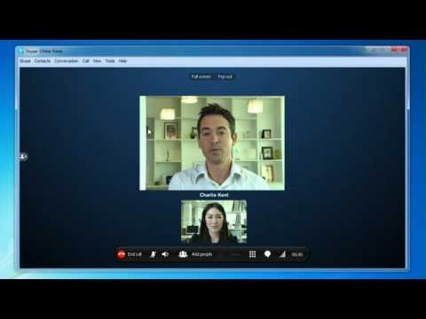 How to make a Skype to Skype video call - Windows