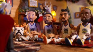 Warriors Christmas Claymation