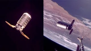 OA-8 S.S. Gene Cernan Cygnus capture