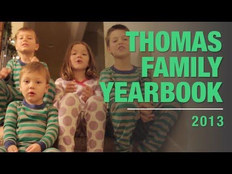 Thomas Family Yearbook 2013